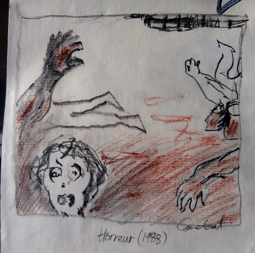 Horreur (after Constant)