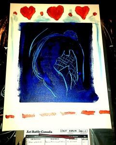 Art Battle: Charlottetown PEI 14feb15