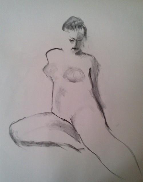 sketch leg extended